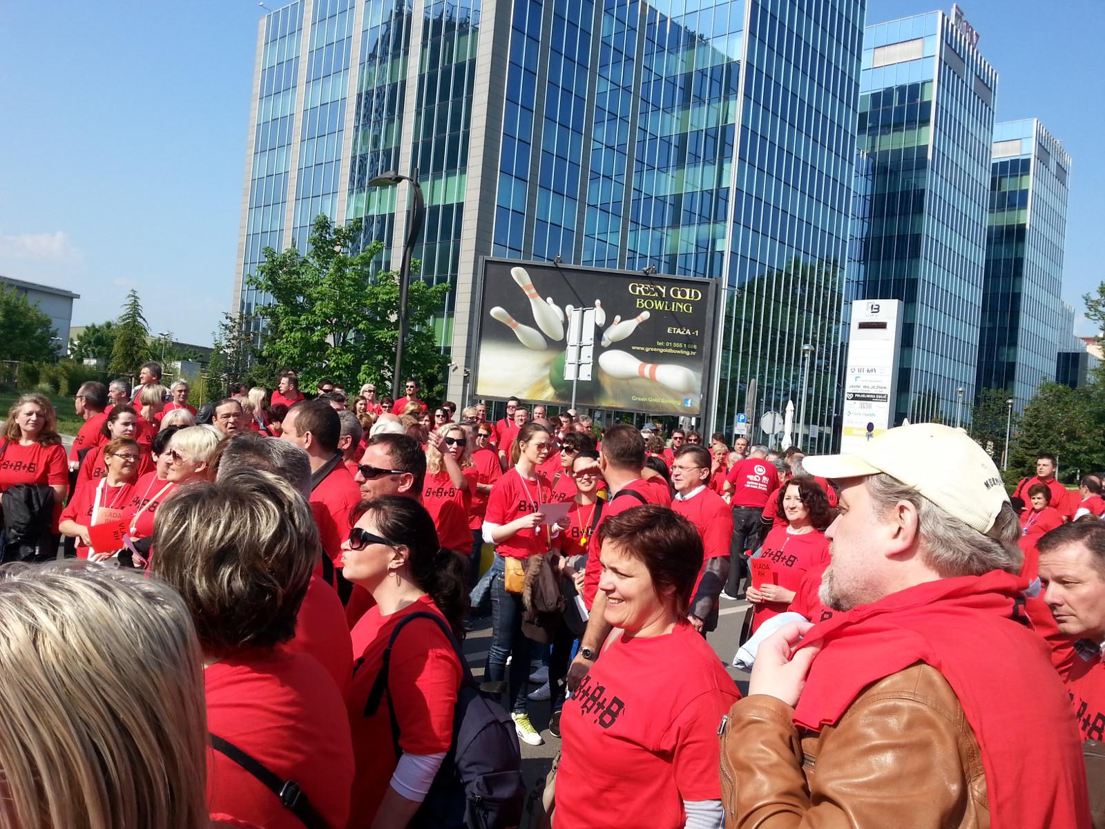 Obilježen međunarodni praznik rada - 1. svibnja 2014.