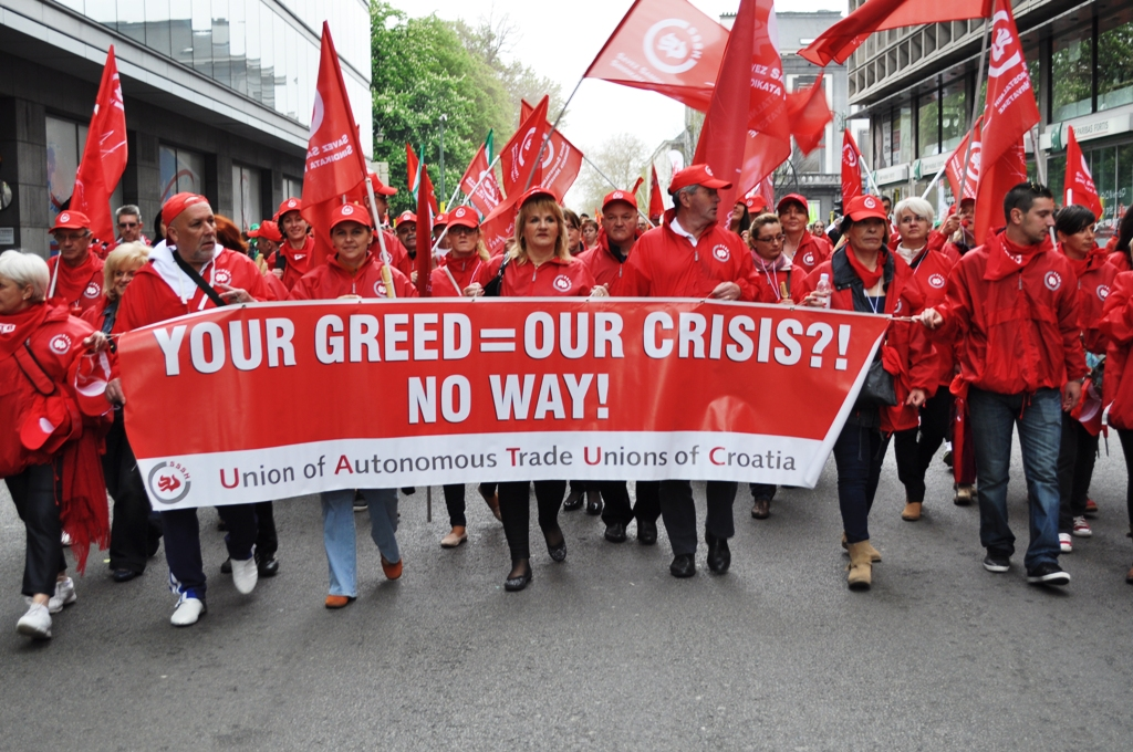 """EURO-DEMONSTRACIJE ETUC-a: """"Novi put za Europu"""" – borba za investicije, kvalitetna radna mjesta i jednakost"""""""