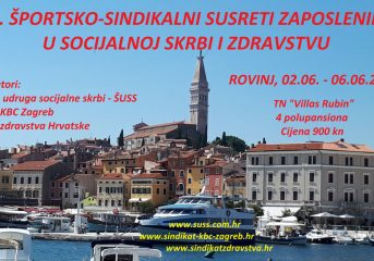 27. športsko - sindikalni susreti zaposlenika u socijalnoj skrbi i zdravstvu